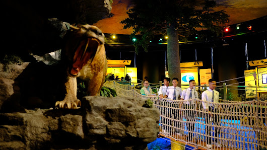 Miocene Animals At The Geotime Diorama, Petrosains