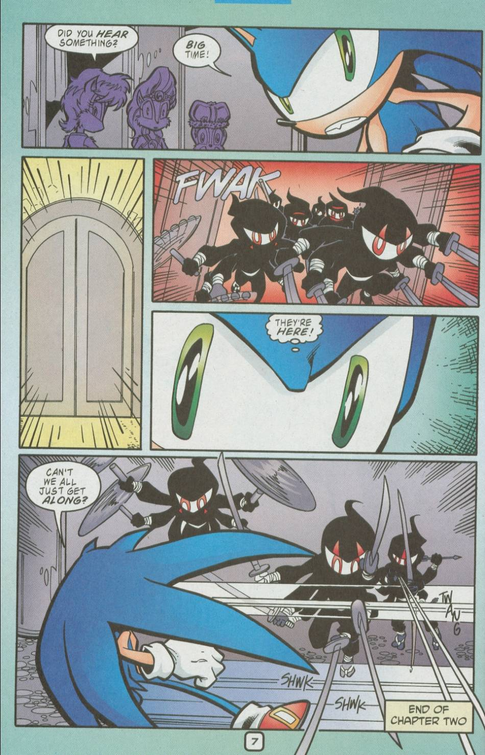 Read online Sonic The Hedgehog comic -  Issue #111 - 9
