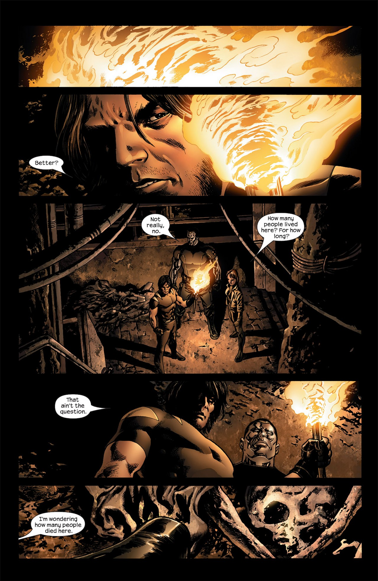 Read online Ultimate Nightmare comic -  Issue #3 - 6