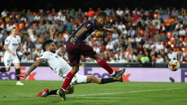 Liga Europa: Valencia vs Arsenal: Bungkam Tuan Rumah 4-2, The Gunners Melenggang ke Final