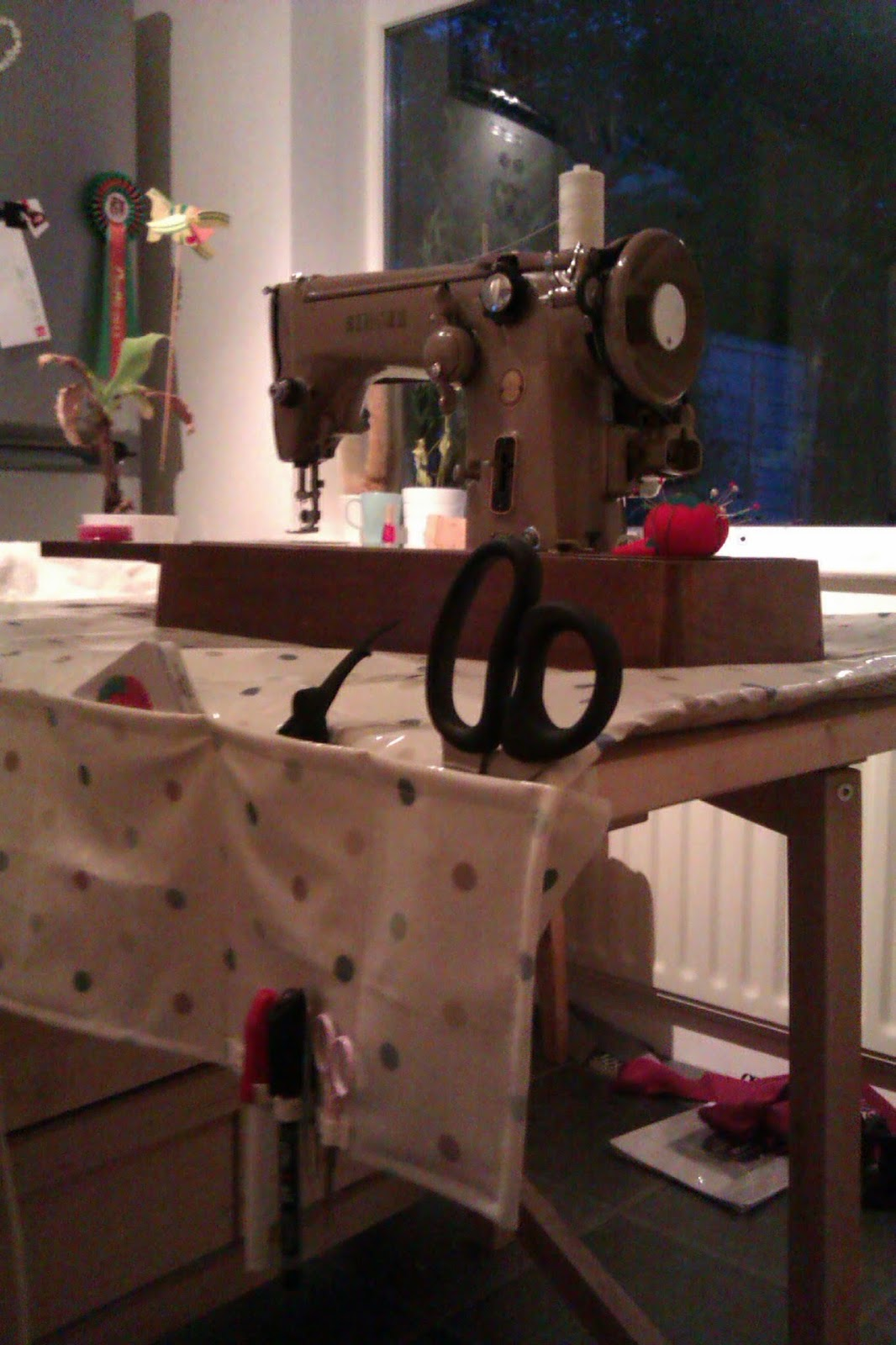 Crafty Knick Knacks First Singer 306k Project Sewing