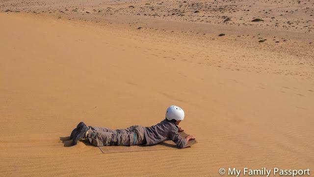 Surf dunas Namibia