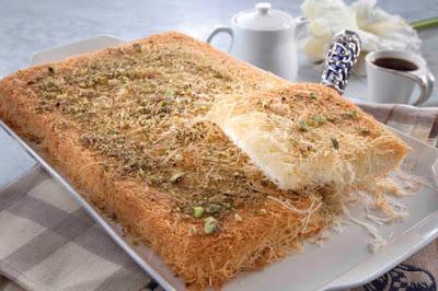 كنافة بجبن القريش - مطبخ منال العالم