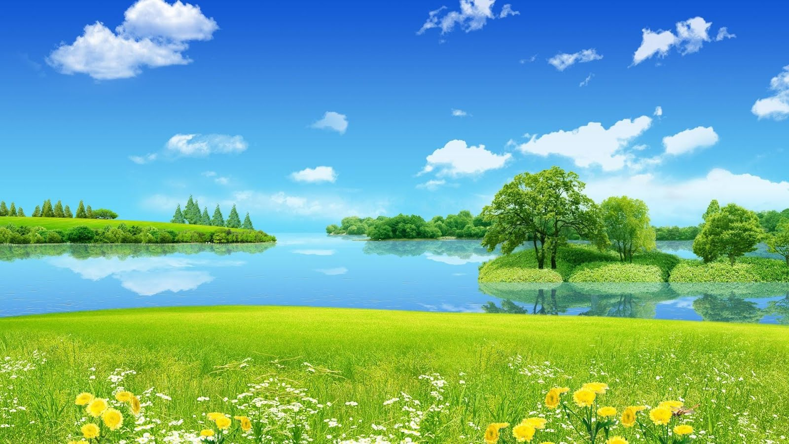 Animated Nature Wallpaper