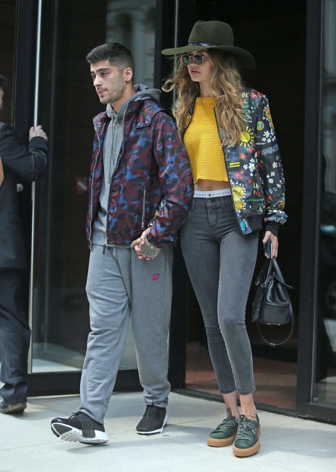 Gigi and Zayn spotted strolling hand in hand in NYC