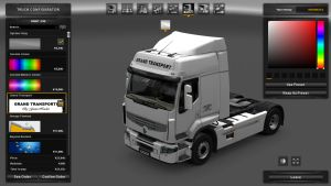 Grand Transporti Skin for Renault Premium