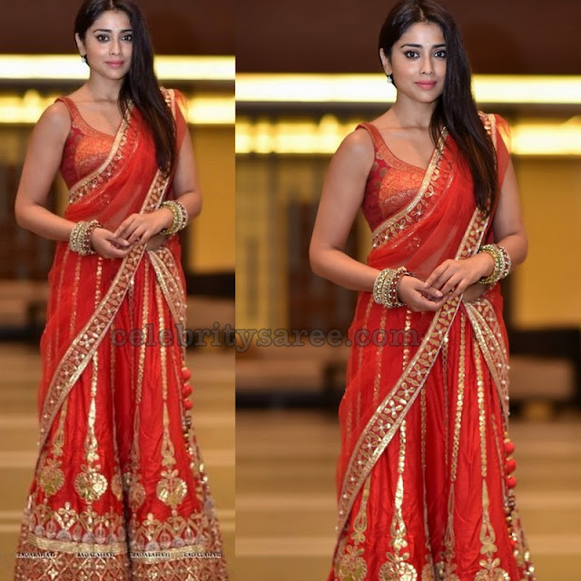 Shriya at Sania Mirza Sister Wedding