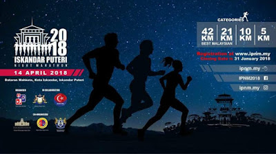 ISKANDAR PUTER NIGHT MARATHON 2018