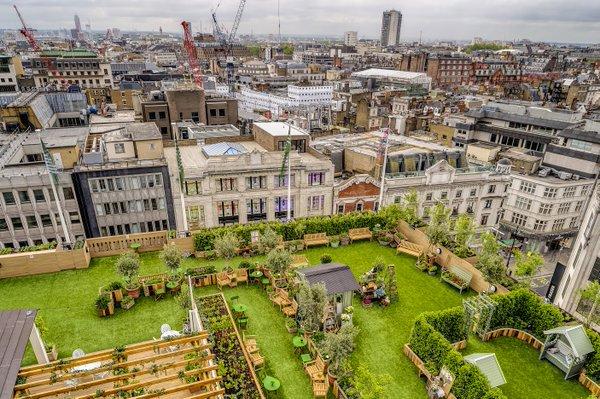 0723f5e33676 London Pop-ups: John Lewis's 'The Gardening Society' Rooftop Pop-up ...