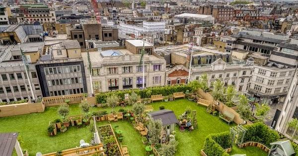 e59f77edd860 London Pop-ups: John Lewis's 'The Gardening Society' Rooftop Pop-up on Oxford  Street