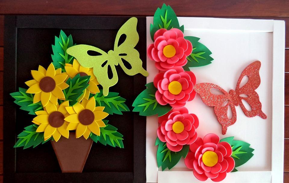 Moldes De Flores Em Eva Para Painel Como Fazer