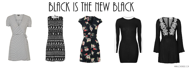 Topshop wishlist, the dresses edit, black is the new black | Love, Maisie