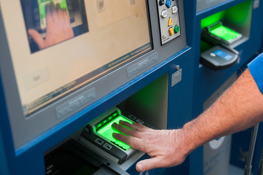 Hand Scanning Biometric Reader