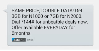 Airtel Double Data Plan And The Subscription Codes