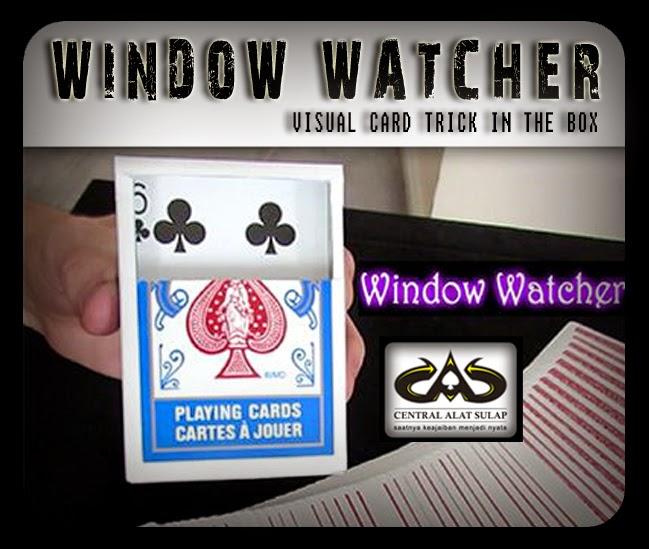 TOKO SULAP JOGJA WINDOW WATCHER