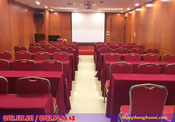 Cho thuê phòng đào tạo - training từ 40 - 50 chỗ
