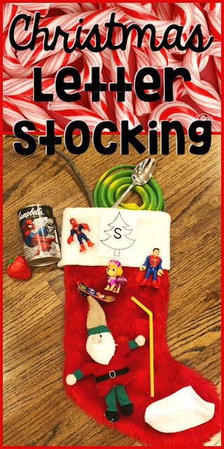 Fun alphabet and phonics activity for the month of December for preschool and Kindergarten and 1st grade