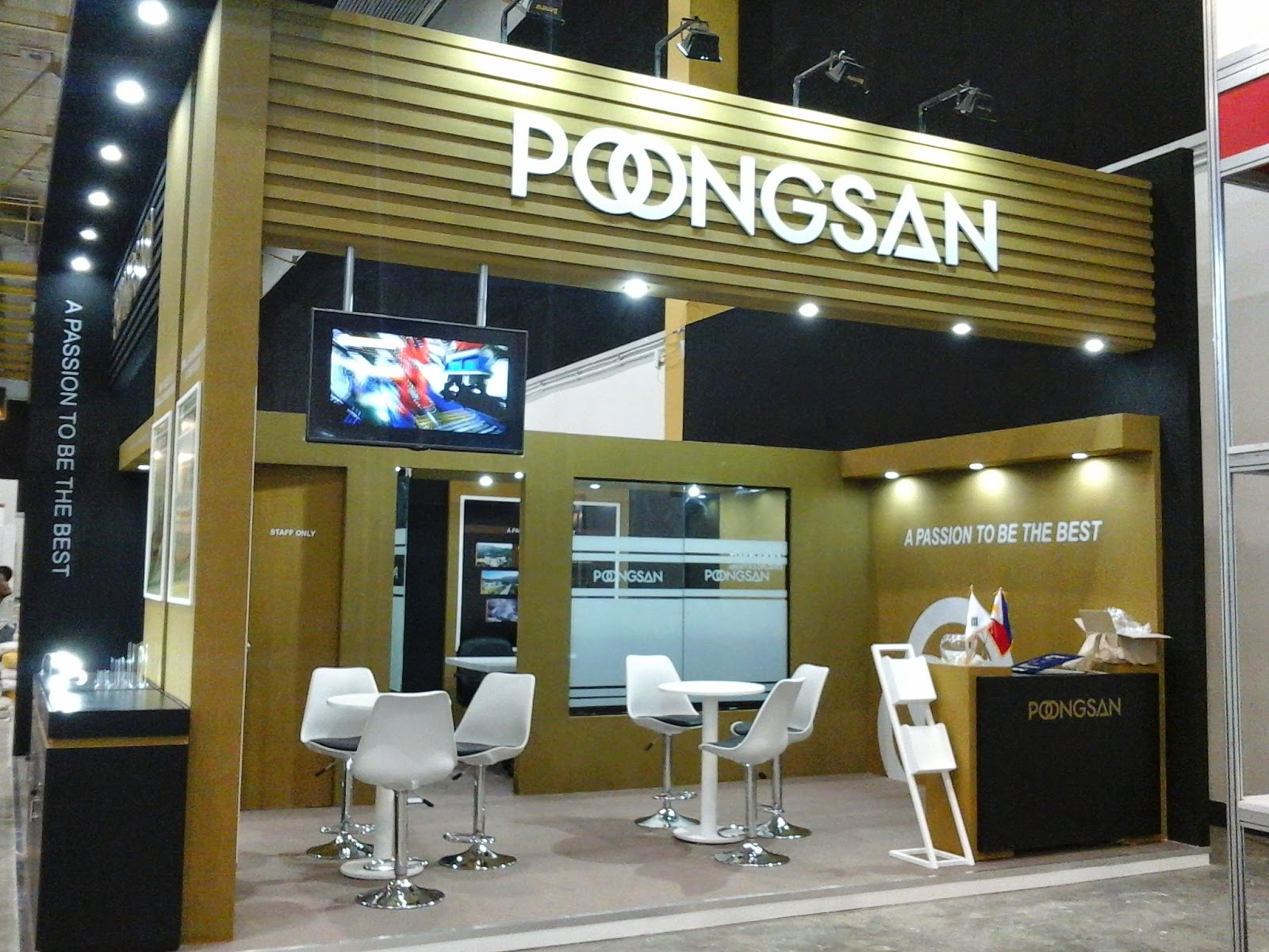 Poongsan ADAS 2014 Trade Show Booth