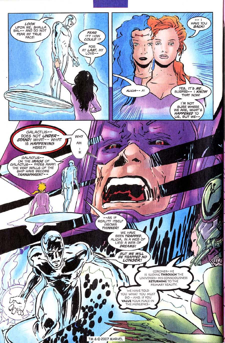 Read online Silver Surfer (1987) comic -  Issue #140 - 34