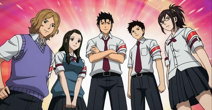 Review Anime Sket Dance