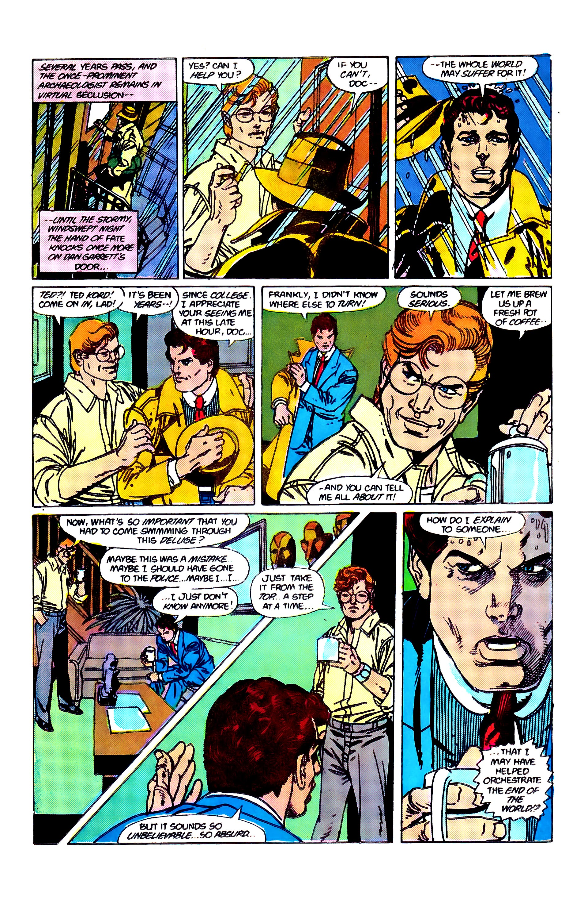 Read online Secret Origins (1986) comic -  Issue #2 - 18