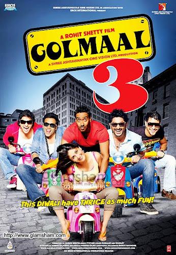 Golmaal 3 (2010) Movie Poster
