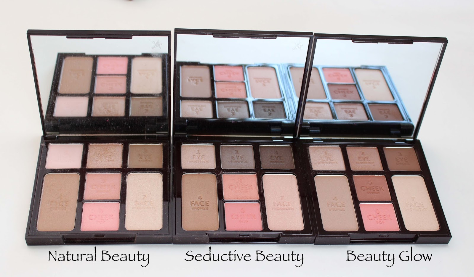afe408b8d938 Pondering Beauty  Charlotte Tilbury Instant Look in a Palette Face ...