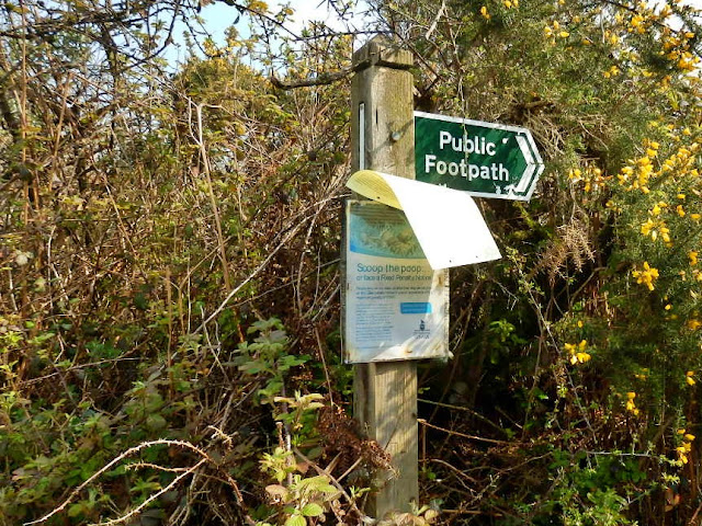Public Footpath sign