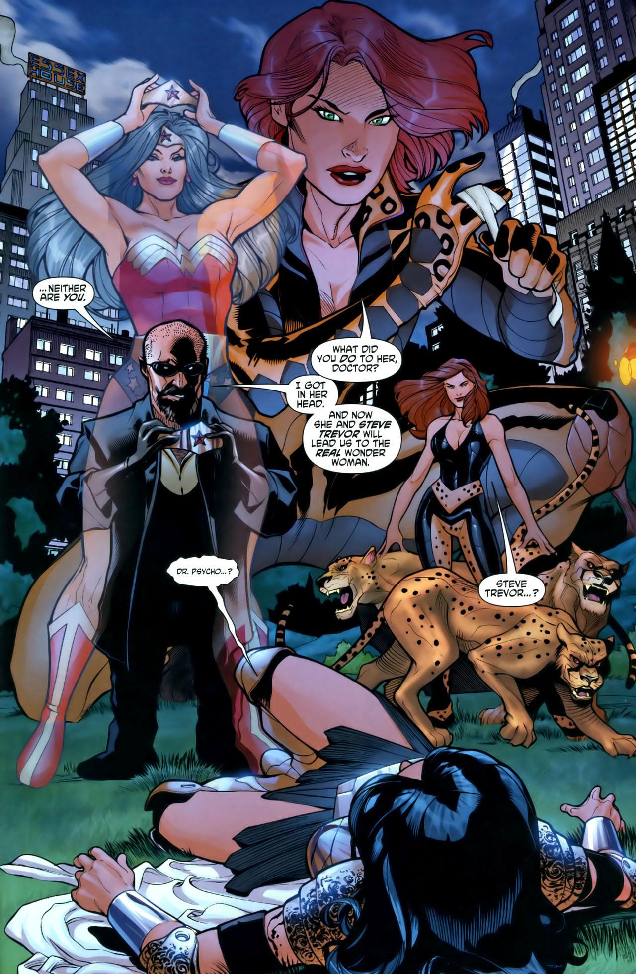 Read online Wonder Woman (2006) comic -  Issue #1 - 21
