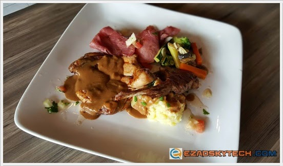 Signature Combo Mixed Grilled U-Cafe Wangsa Walk