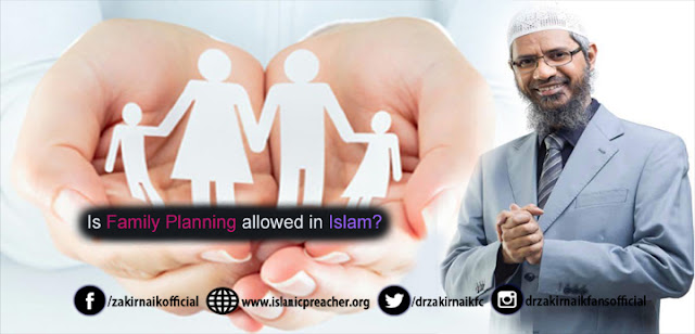 Is Family Planning allowed in Islam?
