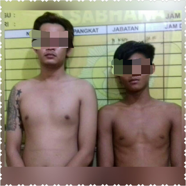 Polisi Amankan Dua Pemuda Tanggung Pelaku Curat