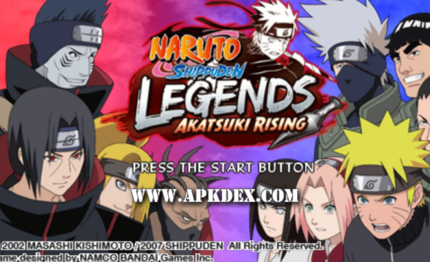 Game  PSP / PPSSPP Naruto Shippuden ISO + CSO Save Data