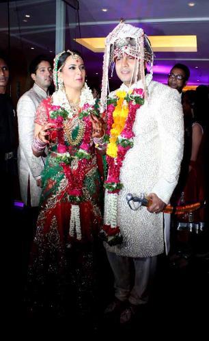 TV Actress Shweta Tiwari's Wedding Photo Gallery