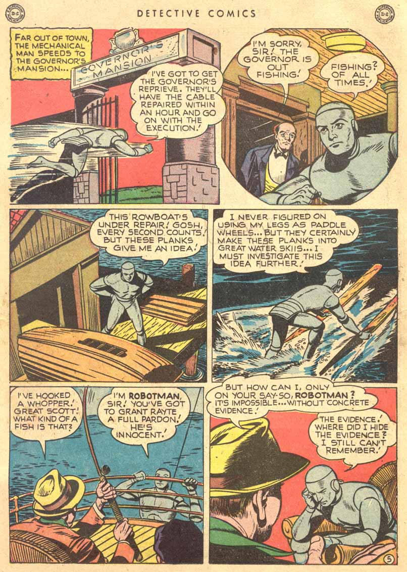 Read online Detective Comics (1937) comic -  Issue #149 - 21