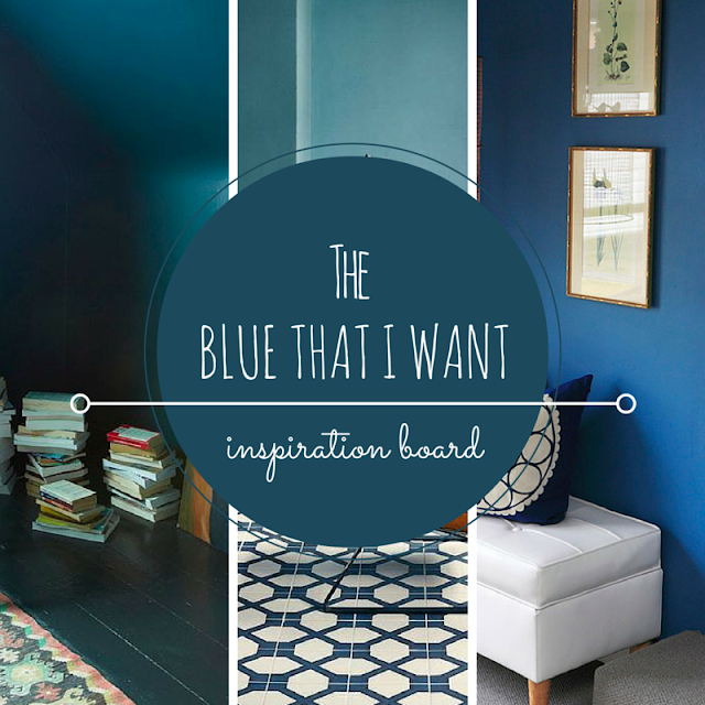 COLOR INSPIRATION BLUE • THE ROUND BUTTON BLOG