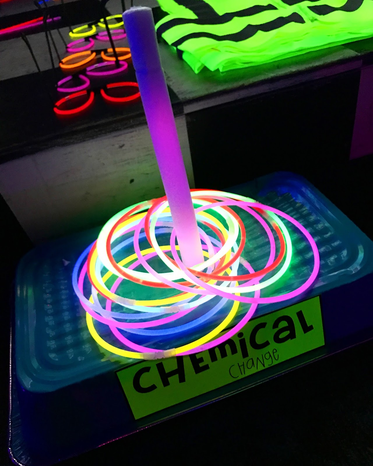 Games: Elementary Shenanigans: The Glow Games: Games For The