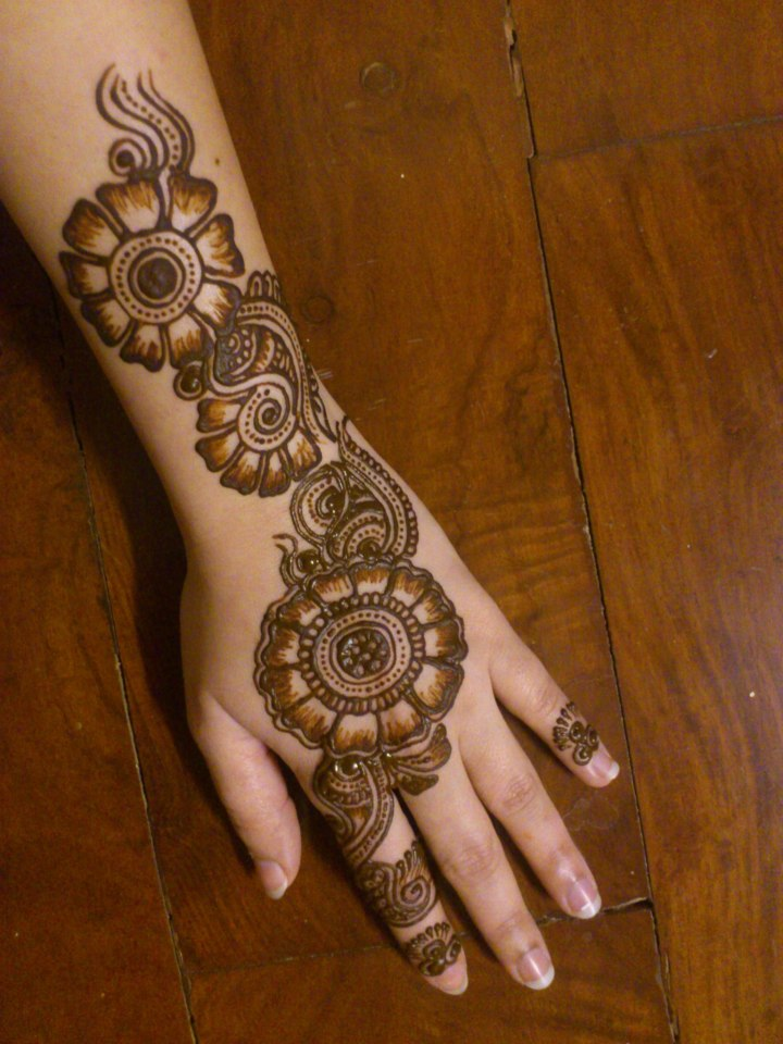 Best Mehndi Designs For Different Occasions October 2014
