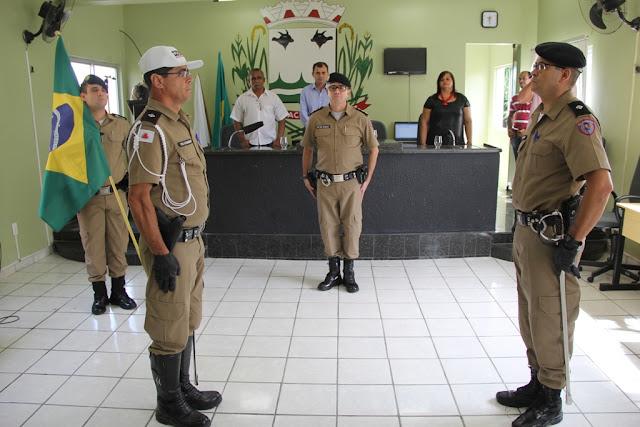 Comandante Pelotão de Polícia Militar em Jacinto MG