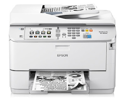 printer multifunction device has depression ability consumption in addition to combines depression full terms of ain Epson WorkForce Pro WF-M5694 Driver Download