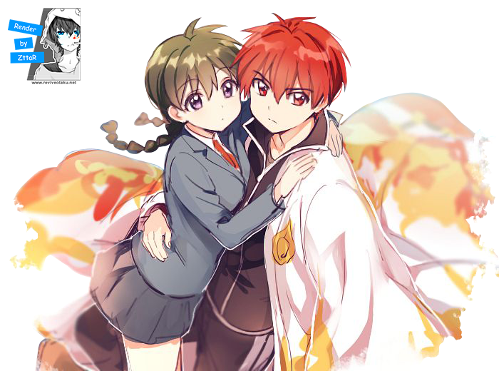 Render Rokudou Rinne & Mamiya Sakura