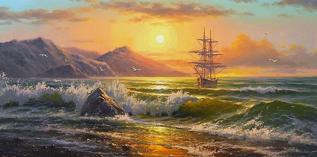 sensacionales-cuadros-de-paisajes-de-pintores-rusos-actuales