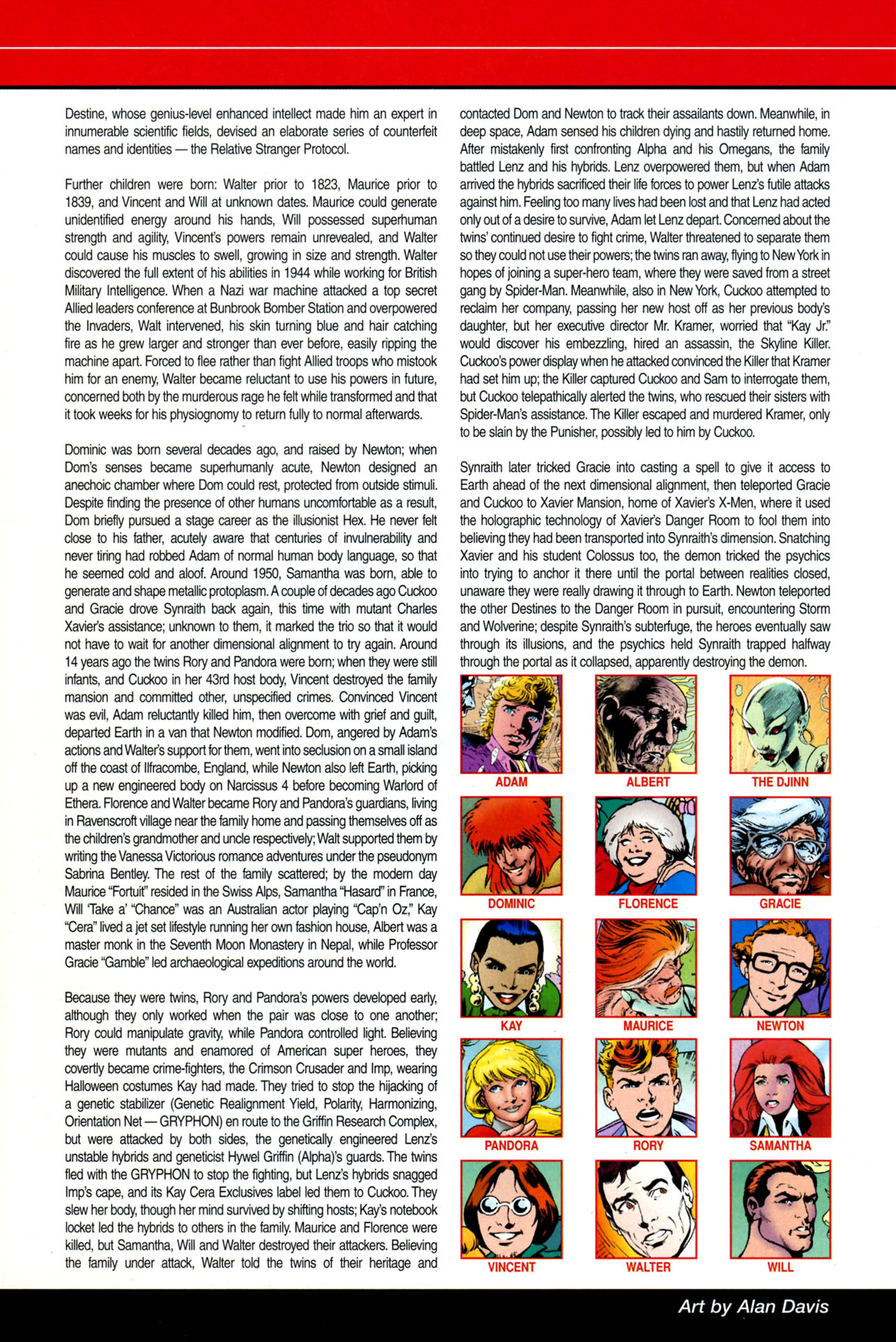 Read online All-New Official Handbook of the Marvel Universe A to Z: Update comic -  Issue #4 - 10