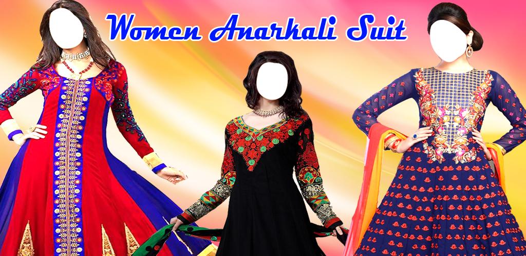 Atm Apps: Trendy Anarkali Garment Photo Suit | Latest