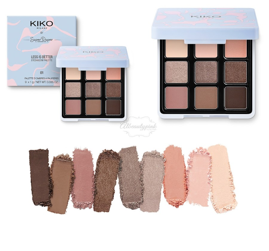 Limited edition less is better by KIKO MILANO Albeautypink 5