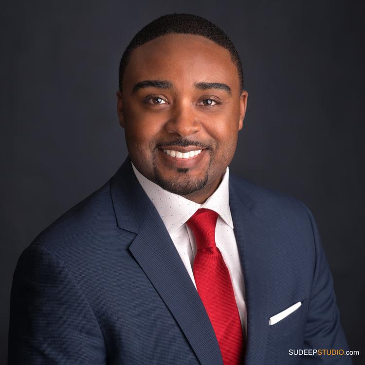 Modern Professional Headshots African American Black Doctor - SudeepStudio.com Ann Arbor Professional Portrait Photographer