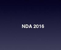 NDA 2016