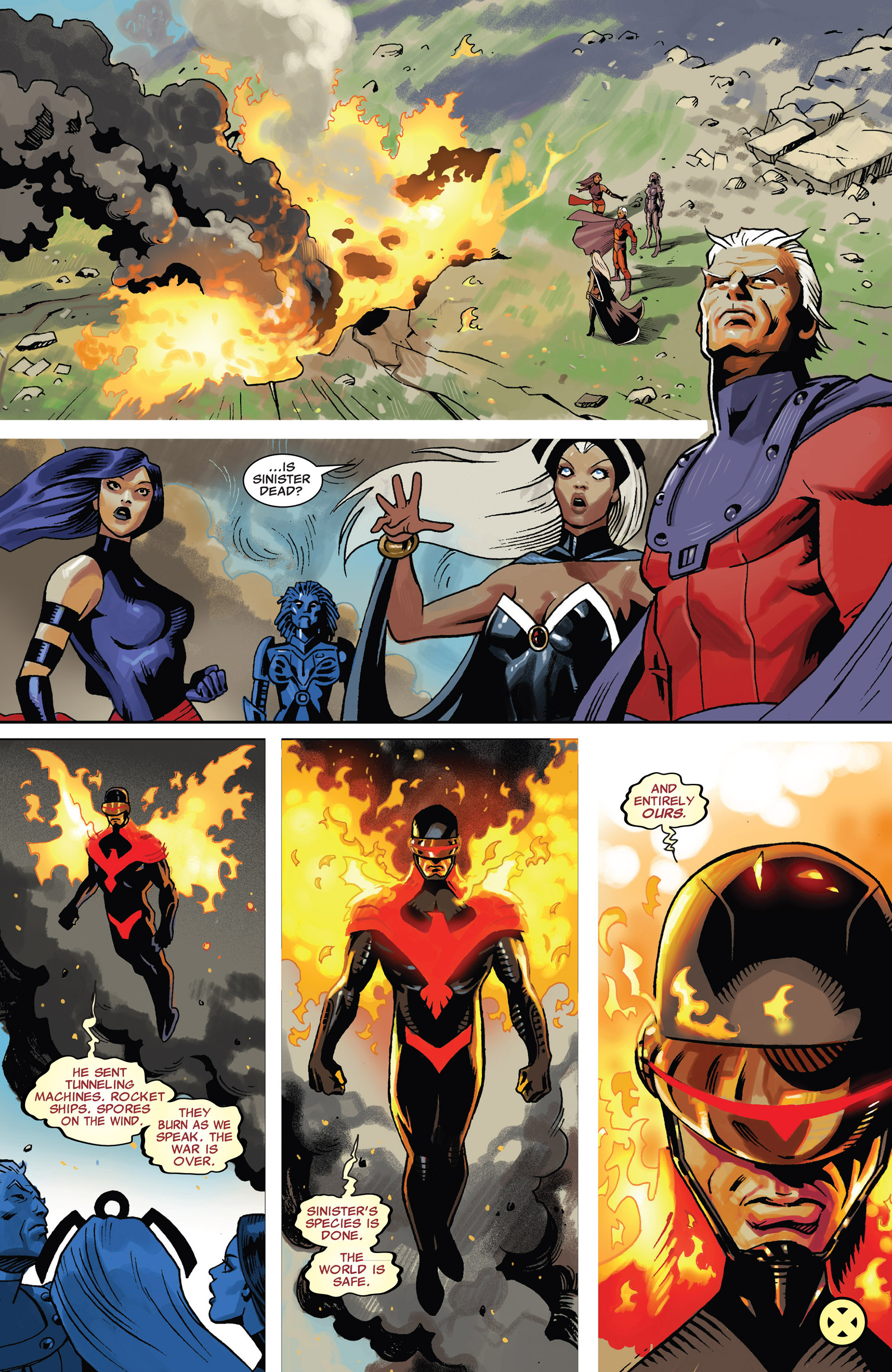Read online Uncanny X-Men (2012) comic -  Issue #17 - 22