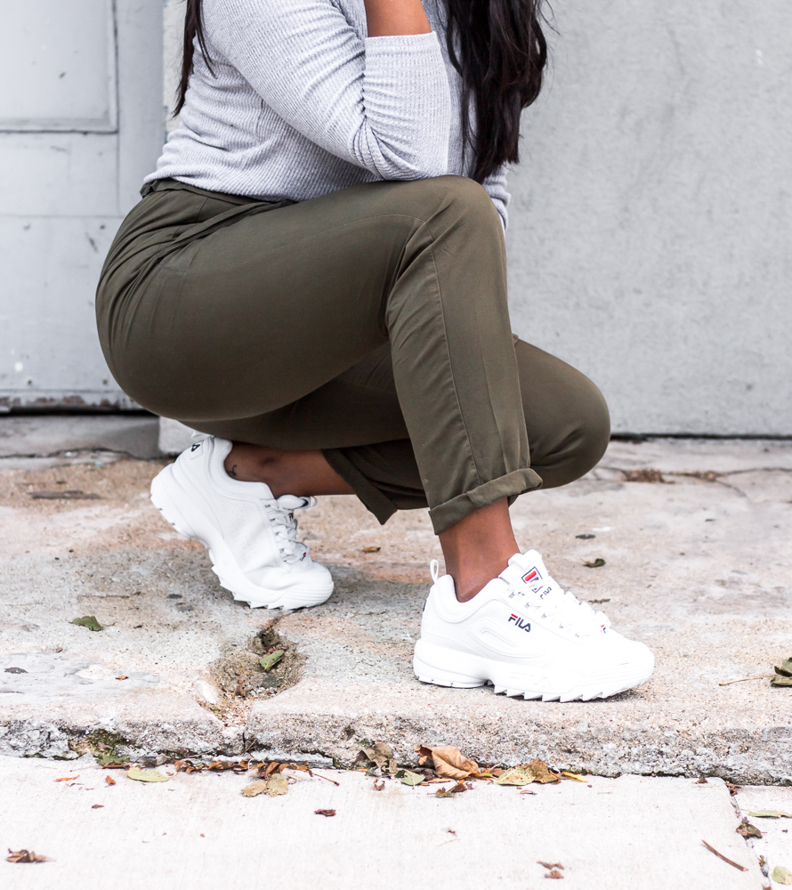 """why i'm loving the """"chunky"""" sneakers trend ft fila"""