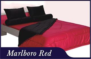 Sprei & Bedcover Shyra Polos - Marlboro Red